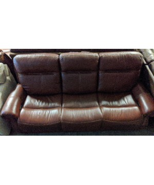 Red Power Reclining Sofa -...