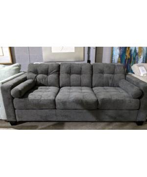 Gray Fabric Sofa - A Stock