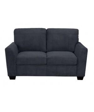ROSIE Love seat Fabric Blue...