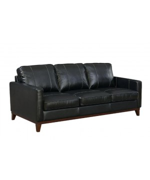 "Clancy Leather Sofa - ""A..."
