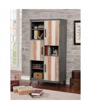 Binche Pier Cabinet Gray/Multi