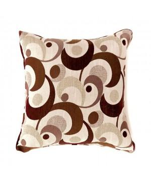 Swoosh Pillow (2/Box) Brown
