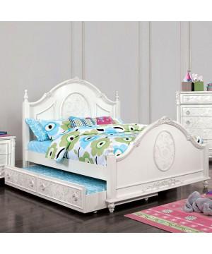 Henrietta Bed Off-White