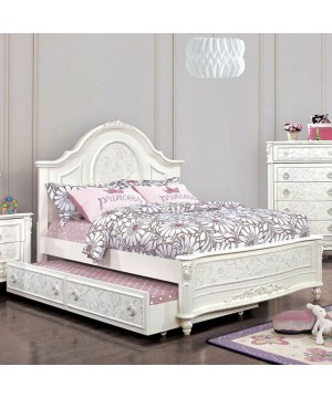 Guinevere Bed Off-White