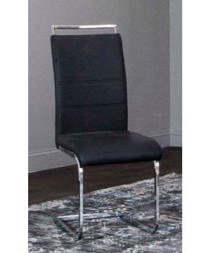 Mantis Black Side Chair -...