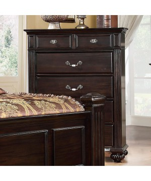 Syracuse Chest Dark Walnut