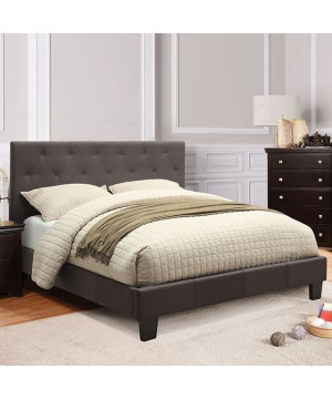 Leeroy Queen Bed Gray