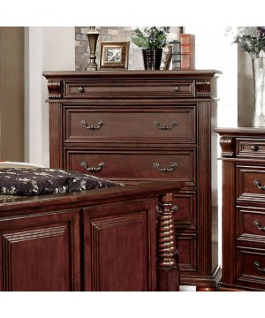 Esperia Chest Brown Cherry