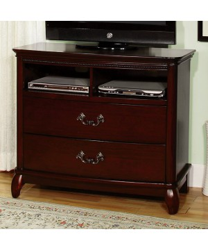 Claymont Media Chest Cherry