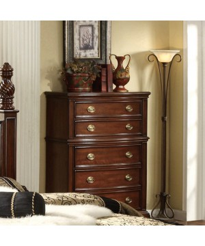 Carlsbad Chest Dark Walnut