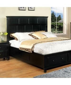 Willow Creek E.King Bed Black