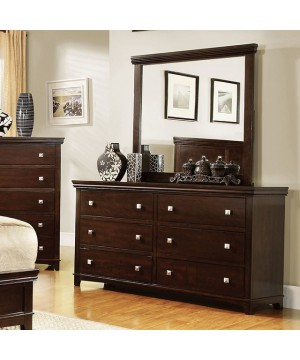 Spruce Dresser Brown Cherry