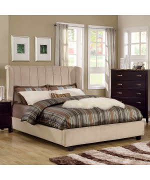 Maywood Twin Bed Beige