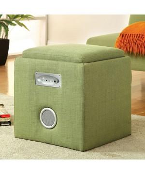 Rythmo Speaker Ottoman Green