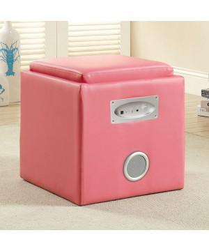 Rythmo Speaker Ottoman Pink
