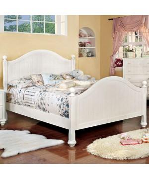 Cape Cod II Full Bed White