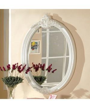 Alexandra Mirror Pearl White