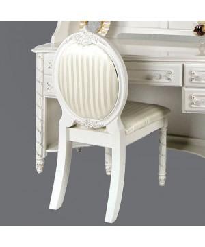 Alexandra Chair Pearl White
