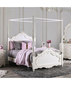 Victoria Twin Bed Pearl...