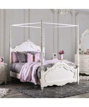 Victoria Bed Pearl Off-White