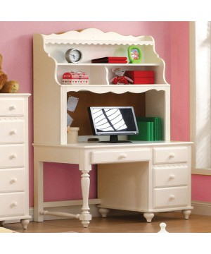 Adriana Desk White