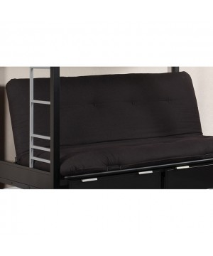 "Plosh 6"" Black Futon..."