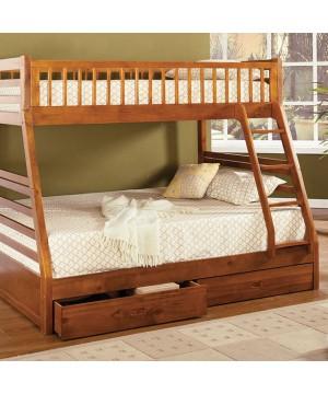 California II Bunk Bed Oak