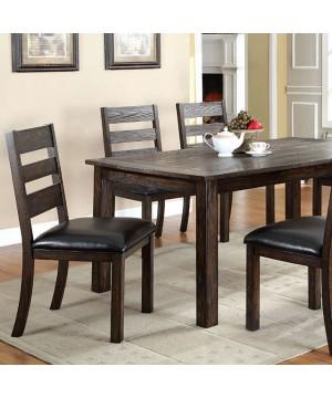 Edmonton Dining Table Dark Oak