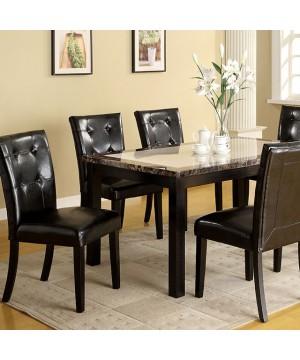 """Atlas I 60"""" Dining Table Black"""
