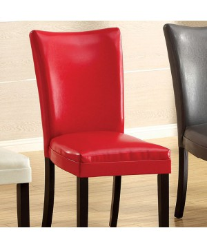 Belliz Side Chair (2/Box) Red