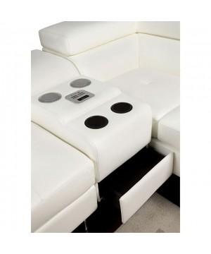 Kemi Speaker Console White