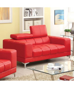 Ferna Love Seat Red