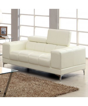 Ferna Love Seat White