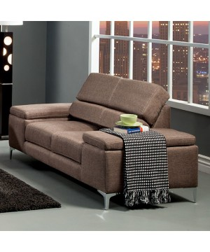 Rhodes Love Seat Brown