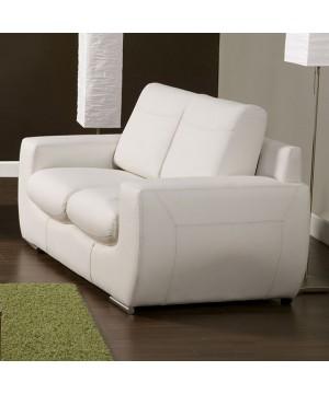 Tekir Love Seat White