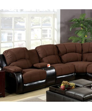 Wolcott Sectional Brown