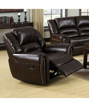 Dudhope Recliner Dark Brown