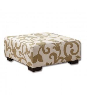 Colebrook Ottoman Beige/Ivory