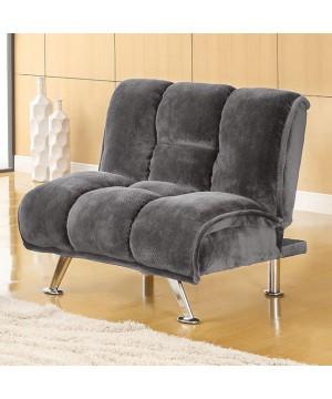Marbelle Chair Gray/Chrome