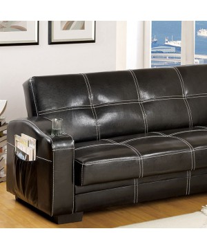 Colona Futon Sofa Black
