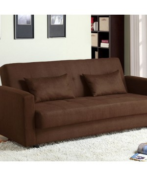 Jansen Futon Sofa Brown