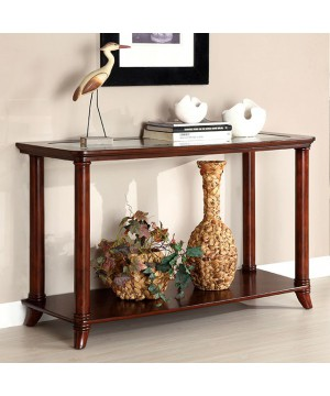 Westerville Sofa Table Cherry