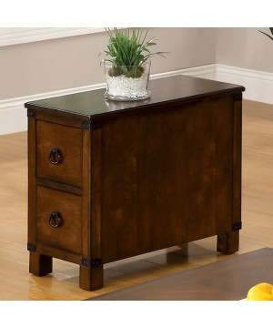 Hazel Side Table Antique Oak