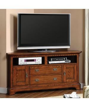 Monteville TV Console Dark Oak