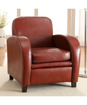 Lugano Accent Chair Mahogany