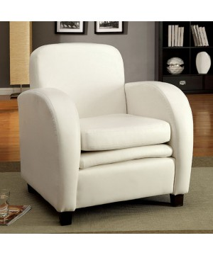 Lugano Accent Chair White