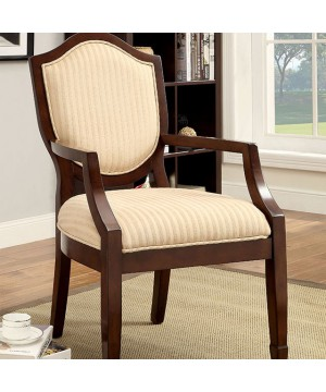 Cheswold Accent Chair Walnut