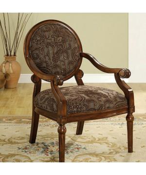 Elsmere Accent Chair Dark Oak