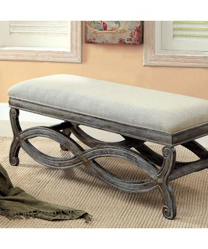 Quarry Bench Reclaimed Gray