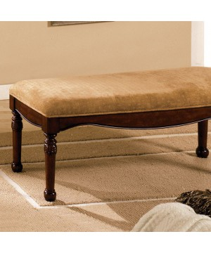 Halton Bench Distressed Cherry
